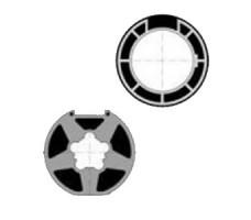 Adaptations moteur SIMU pour portes de garage : Adaptations Moteur T6/LT60 vers Tube Deprat 89