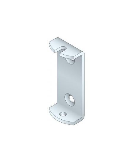 Fixations et supports SIMU pour portes de garage : Support moteur T6 étrier