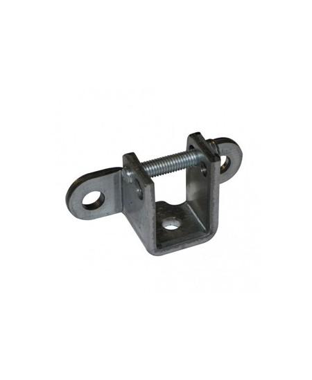 Fixations et supports Deprat pour portes de garage : Coussinet pour embout C16 avec vis