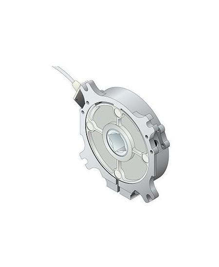 Securite SIMU pour portes de garage : Antichute embout C18 95 Nm pour axe tubulaire