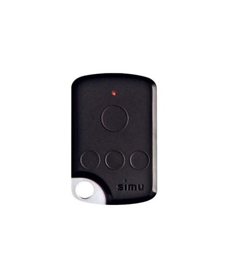 Telecommandes et commandes sans fils SIMU pour portes de garage : Télécommande de poche TSA Hz