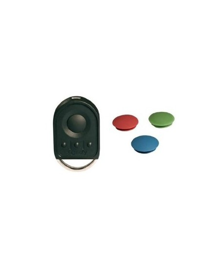 Telecommandes et commandes sans fils Somfy pour portes de garage : Télécommande de poche Keygo 4 canaux IO