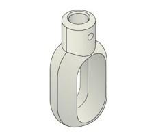 Accessoires SIMU pour rideaux metalliques : Anneau pour moteur SIMU T8M/T9M