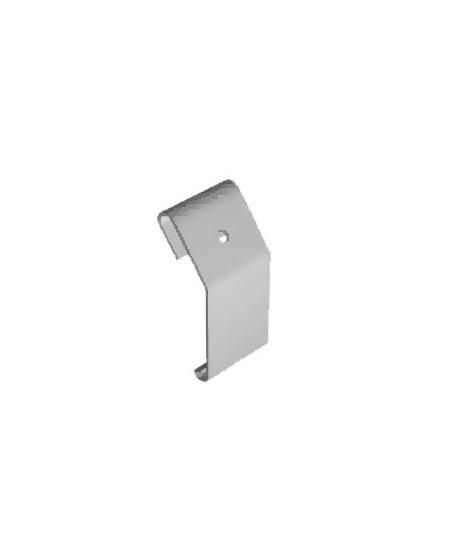 Accessoires Semi-Fermetures pour rideaux metalliques : Agrafe tablier pour axe compensé enroulement intérieur