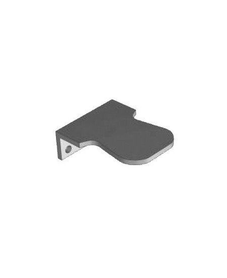 Accessoires Semi-Fermetures pour rideaux metalliques : Arrêt simple pour lame finale