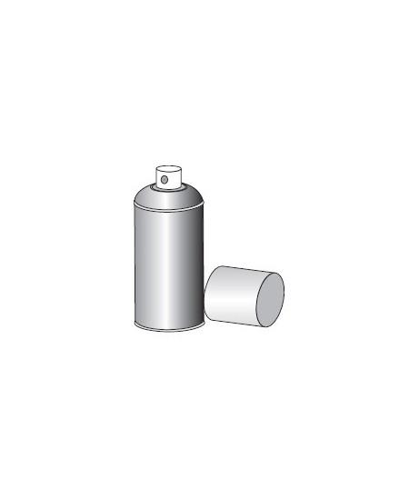 Accessoires Semi-Fermetures pour rideaux metalliques : Peinture en spray galva brillant 400ML