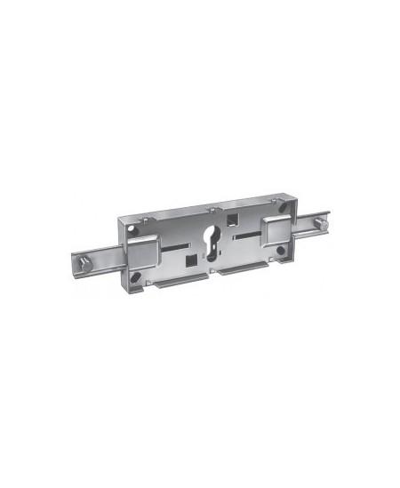 Accessoires PREFER pour rideaux metalliques : Serrure centrale de rideau pour cylindre européen (Sans cylindre)