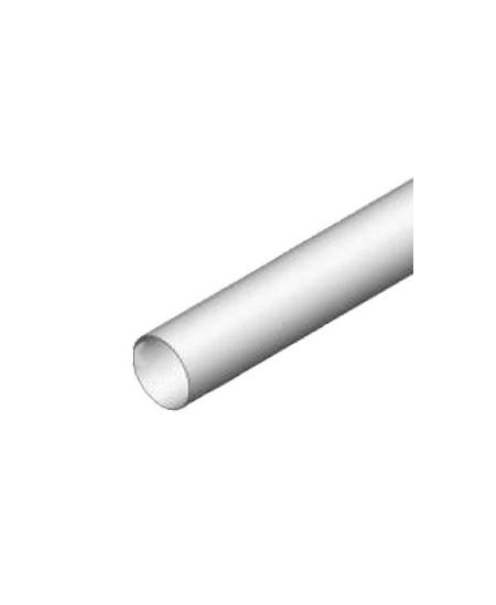 Axes Semi-Fermetures pour rideaux metalliques : Tube rond diam. 133 ép. 2.5 (Vendu au mètre)