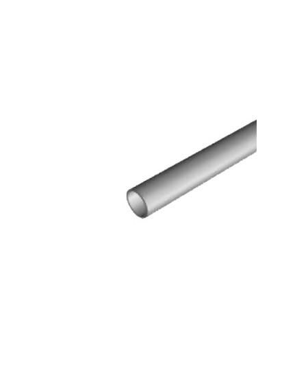 Axes Semi-Fermetures pour rideaux metalliques : Tube rond diam. 60 ép. 3 (Vendu au mètre)