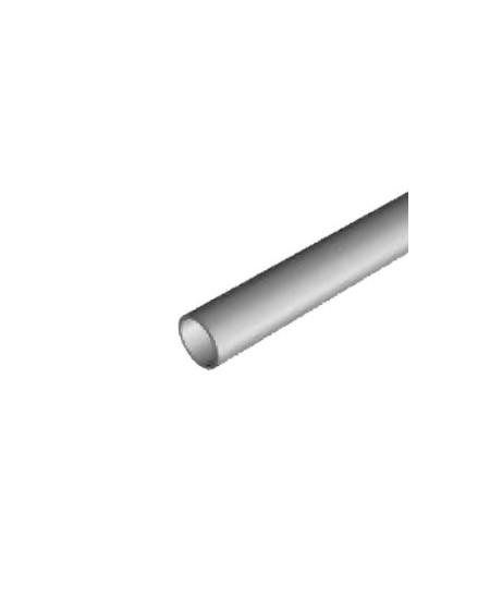 Axes Semi-Fermetures pour rideaux metalliques : Tube rond diam. 76 ép. 3 (Vendu au mètre)