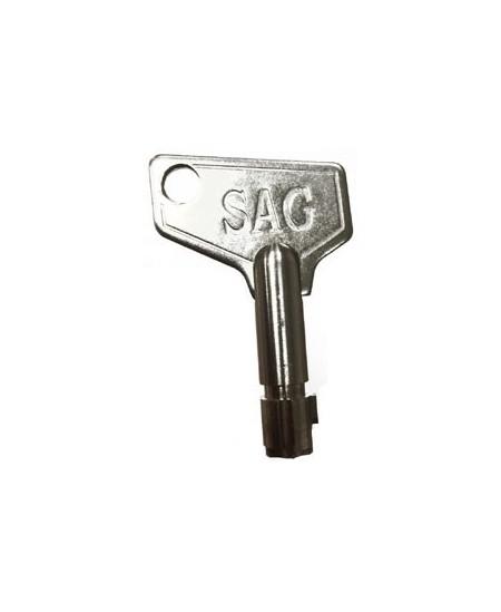 Commandes filaires SAG pour rideaux metalliques : Clé supplémentaire pour boitier CQ8