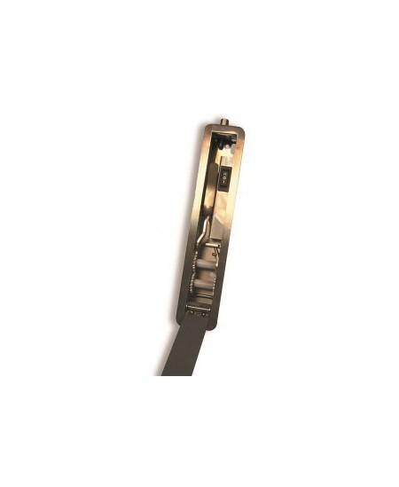 Commandes filaires SAG pour rideaux metalliques : Boîtier fin encastré pour débrayage avec cylindre européen