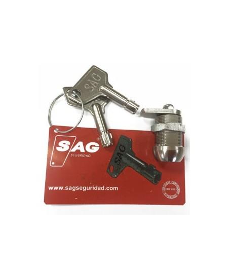 Commandes filaires SAG pour rideaux metalliques : Cylindre pour boitier CQ8