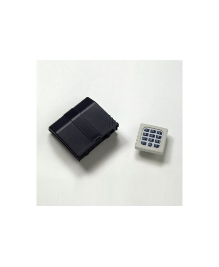 Commandes filaires Geba pour rideaux metalliques : Digicode 220V pour moteur monophasé