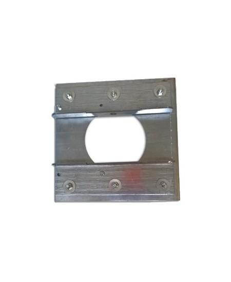 Joues Semi-Fermetures pour rideaux metalliques : Joue à tiroir ép. 30/10 - dim.400x400x60 - SIMU T8/T9 CAT.B/C