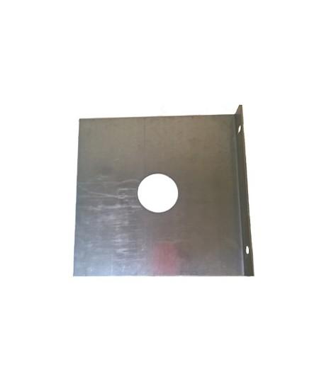 Joues Semi-Fermetures pour rideaux metalliques : Joue opposé tubulaire ép. 30/10 - dim.370x370x60