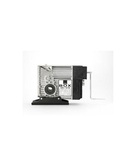 Moteurs SIMU pour rideaux metalliques : Moteur SIMUBOX 220.12 EI porte enroulable triphasé électronique