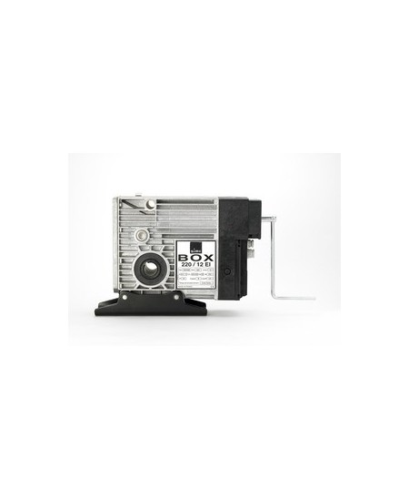Moteurs SIMU pour rideaux metalliques : Moteur SIMUBOX 430.08 EI porte enroulable triphasé électronique