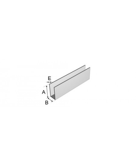 COULISSE GAL 98 X 33 X 98 X 2.5