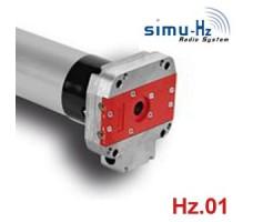 Moteurs SIMU pour portes de garage : Moteur T660/12 DMI Hz.01 - T6 60/12 - 660 Hz.01 avec secours