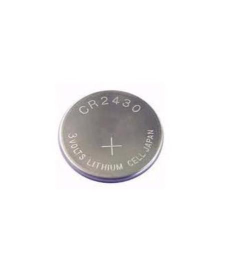 Telecommandes et commandes sans fils SIMU pour rideaux metalliques : Pile CR 2430 pour TSA SIMU