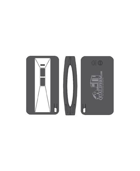Telecommandes et commandes sans fils Semi-Fermetures pour rideaux metalliques : Télécommande de poche 2C Semi-Fermetures