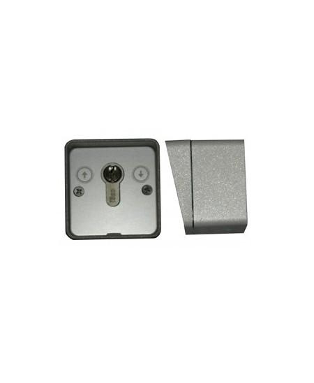 Telecommandes et commandes sans fils Semi-Fermetures pour rideaux metalliques : Boite à clef en saillie sans fils Semi-Fermetures