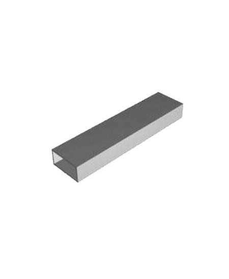 Tubes Semi-Fermetures pour rideaux metalliques : Tube acier galva 80x40 ép. 2 (Vendu au mètre)
