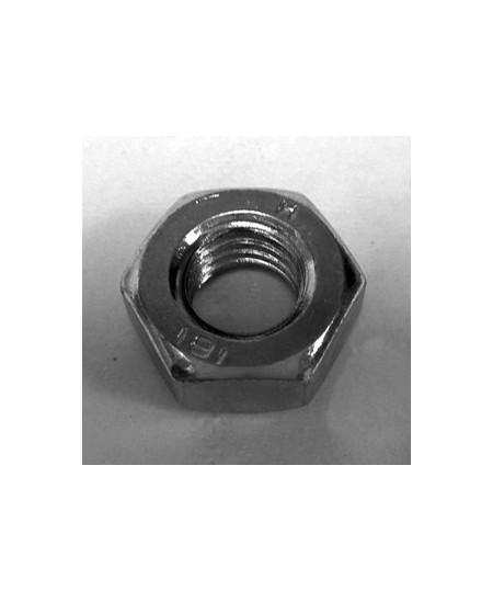 Visserie Semi-Fermetures pour rideaux metalliques : Ecrou M10 pour boulons 10x80 / 10x100 / antichute